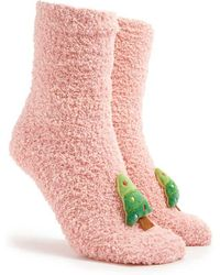 Forever 21 - Shaggy Plush Tree Socks - Lyst