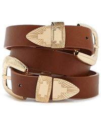 Forever 21 - Faux Leather Belt - Lyst