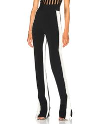 David Koma - Side Snap Crystal Trouser Trousers - Lyst