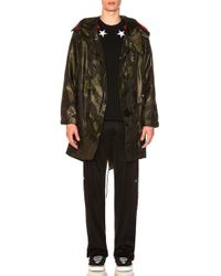 Givenchy - Hooded Fishtail Jacket - Lyst
