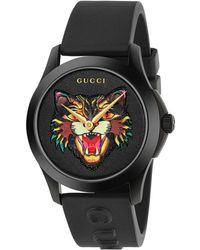 Gucci - 38mm G-timeless Angry Cat Watch - Lyst