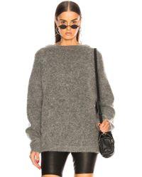 Acne Studios - Dramatic Mohair Sweater - Lyst