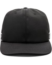 21ee3c69abe Lyst - Givenchy Leather-brim Logo Baseball Cap in Black for Men