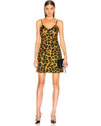 3b6611abd455 Ashish Women's Camouflage Lace Slip Dress - Lyst