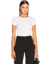 Helmut Lang - Chewed Up Tee - Lyst