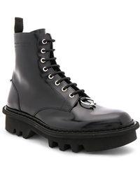 Neil Barrett - Leather Piercing Boots - Lyst