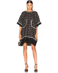 Faith Connexion - Oversized Tweed Dress - Lyst