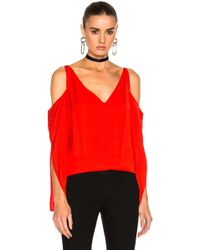 Frankie - Open Shoulder Top - Lyst