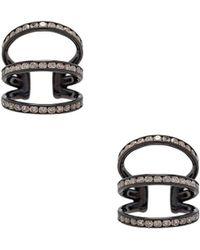 Lynn Ban Trilogy Ear Cuffs in Metallics 1egFLg