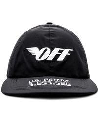 Off-White c/o Virgil Abloh - Gore-tex Logo-print Cap - Lyst