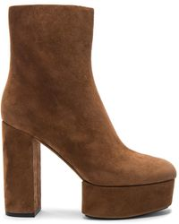 Alexander Wang - Cora Suede Boots - Lyst