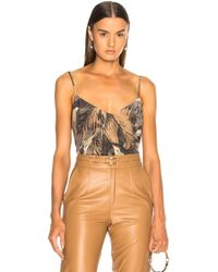 L'Agence - Jane Cami Top - Lyst