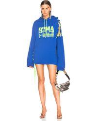 PUMA - Side Laced Hoodie Dress - Lyst