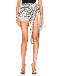 Y. Project - Draped Short - Lyst