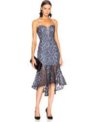 Nicholas - Lace Bra Dress - Lyst