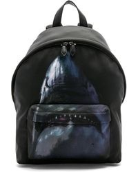 Givenchy - Flat Pocket Shark Backpack - Lyst