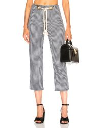 Miaou - Tommy Pant With Rope Belt - Lyst
