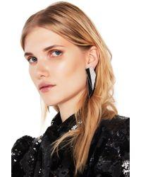 Saint Laurent - Layered Art Deco Earrings - Lyst