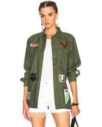 Icons - Patched Fatigue Top - Lyst