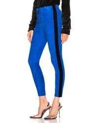 Unravel - Suede Football Trousers - Lyst
