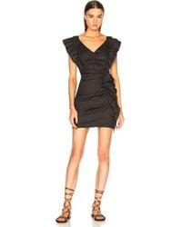 Étoile Isabel Marant - Topaz Chic Linen Strapless Dress - Lyst