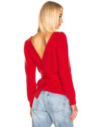 ALEXACHUNG - Open Back Sweater - Lyst