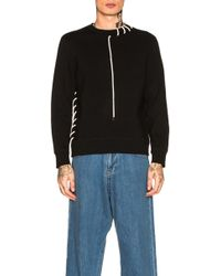 Craig Green - Laced Bonded Sweatshirt - Lyst