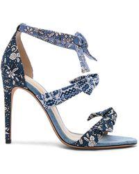 Alexandre Birman - Canvas Lolita 100 Sandals - Lyst