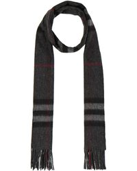 Burberry Prorsum | Giant Check Cashmere Scarf | Lyst
