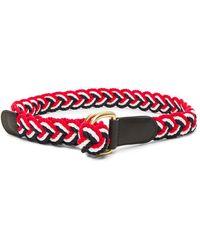 Thom Browne - Nantucket Braided Rope D Ring Belt - Lyst