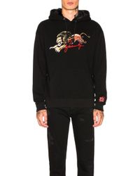 Givenchy - Faux Fur Lion Hoodie - Lyst