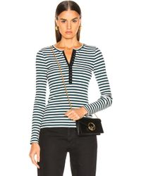 Rag & Bone - Halifax Henley Long Sleeve - Lyst