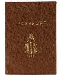 Mark Cross - Passport Cover - Lyst