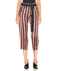 Ann Demeulemeester - Belted Cropped Pants - Lyst