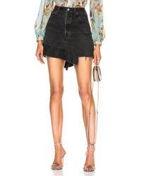 Icons - Levi's 501 Ruffle Skirt - Lyst