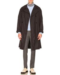 Maison Margiela | Waxed Cotton Trench | Lyst