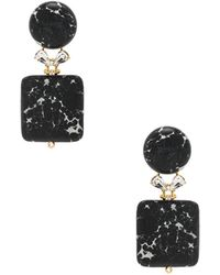Lele Sadoughi - Stone Starlet Earrings - Lyst
