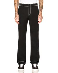 Givenchy | Contrast Stitch Trousers | Lyst