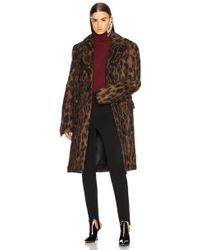 Y. Project - Leopard Coat - Lyst
