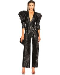 Carmen March - Deep V Jumpsuit - Lyst