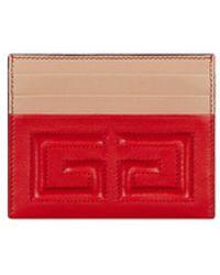 Givenchy - Emblem Card Case - Lyst
