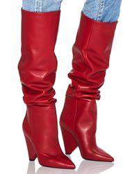 Saint Laurent - Niki Knee-high Boots - Lyst
