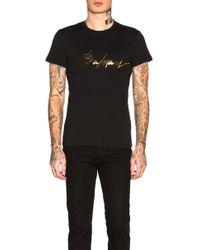 Balmain - Signature T-shirt - Lyst