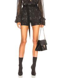 Ann Demeulemeester - Paperbag Waist Shorts - Lyst
