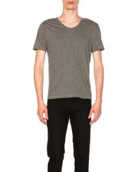 Alexander Wang - Classic Low Neck Tee - Lyst