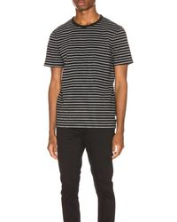 adidas Men Originals Fashion Tee #B10711 BlackWhite at