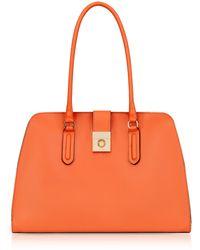 Furla - Mango Milano Medium Leather Tote Bag - Lyst