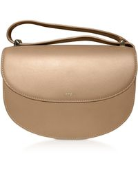 A.P.C. Geneve Smooth Leather Crossbody