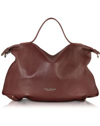 The Bridge - Unica Leather Tote - Lyst