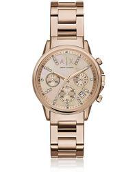 Armani Exchange - Ax4326 Lady Banks Women's Watch - Lyst